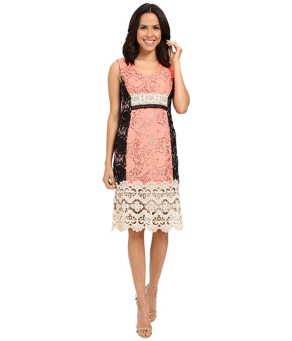 Nanette Lepore - Daquiri Lace Dress (Tangerine Multi) Women's Dress
