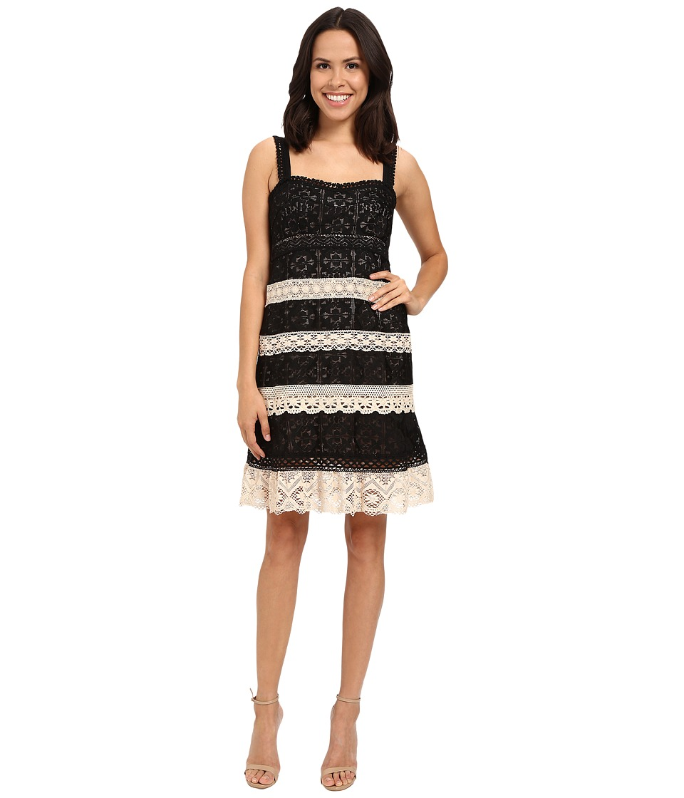 Nanette Lepore - Feel The Music Dress (Black/Multi) Women's Dress