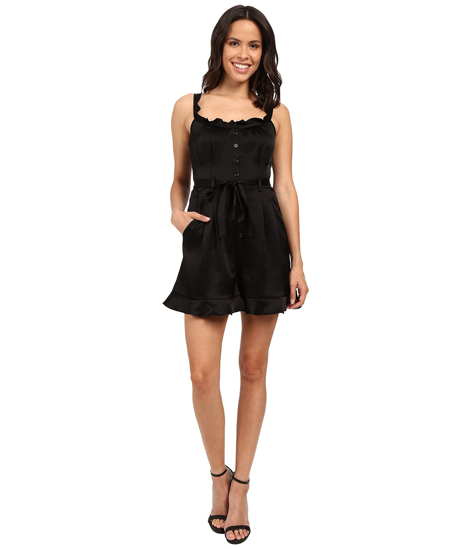 Nanette Lepore - Rhumba Romper (Black) Women's Jumpsuit & Rompers One Piece