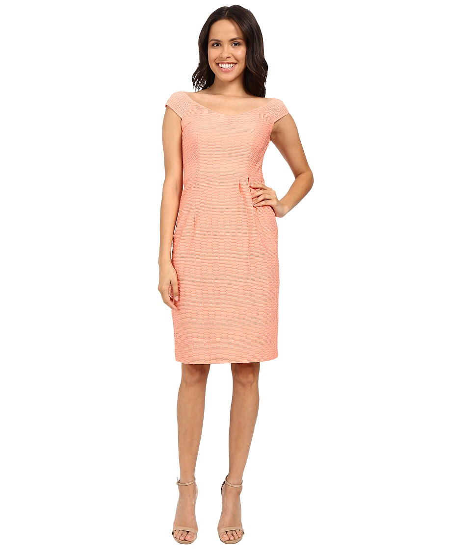 Nanette Lepore - Two to Tango Dress (Tangerine) Women's Dress