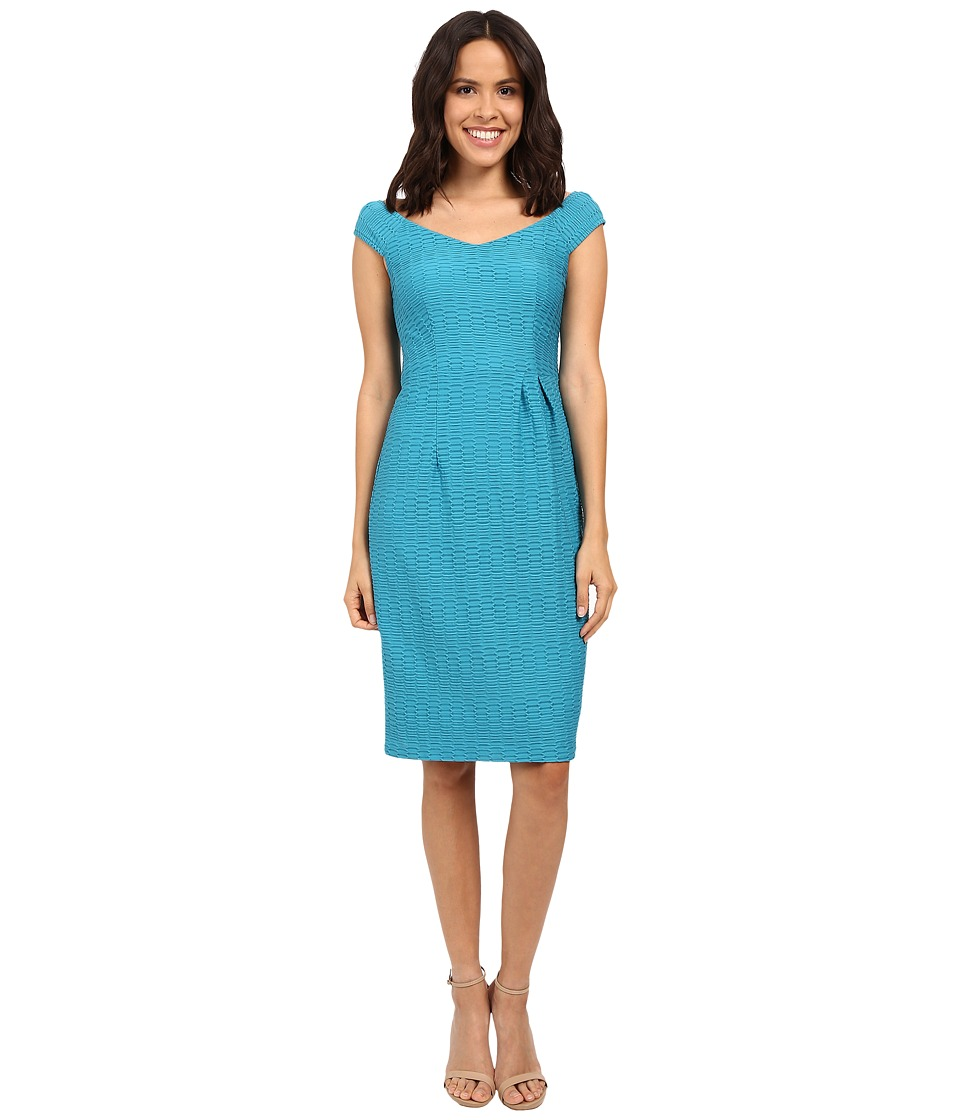 Nanette Lepore Two to Tango Dress (Blue Tide) Women