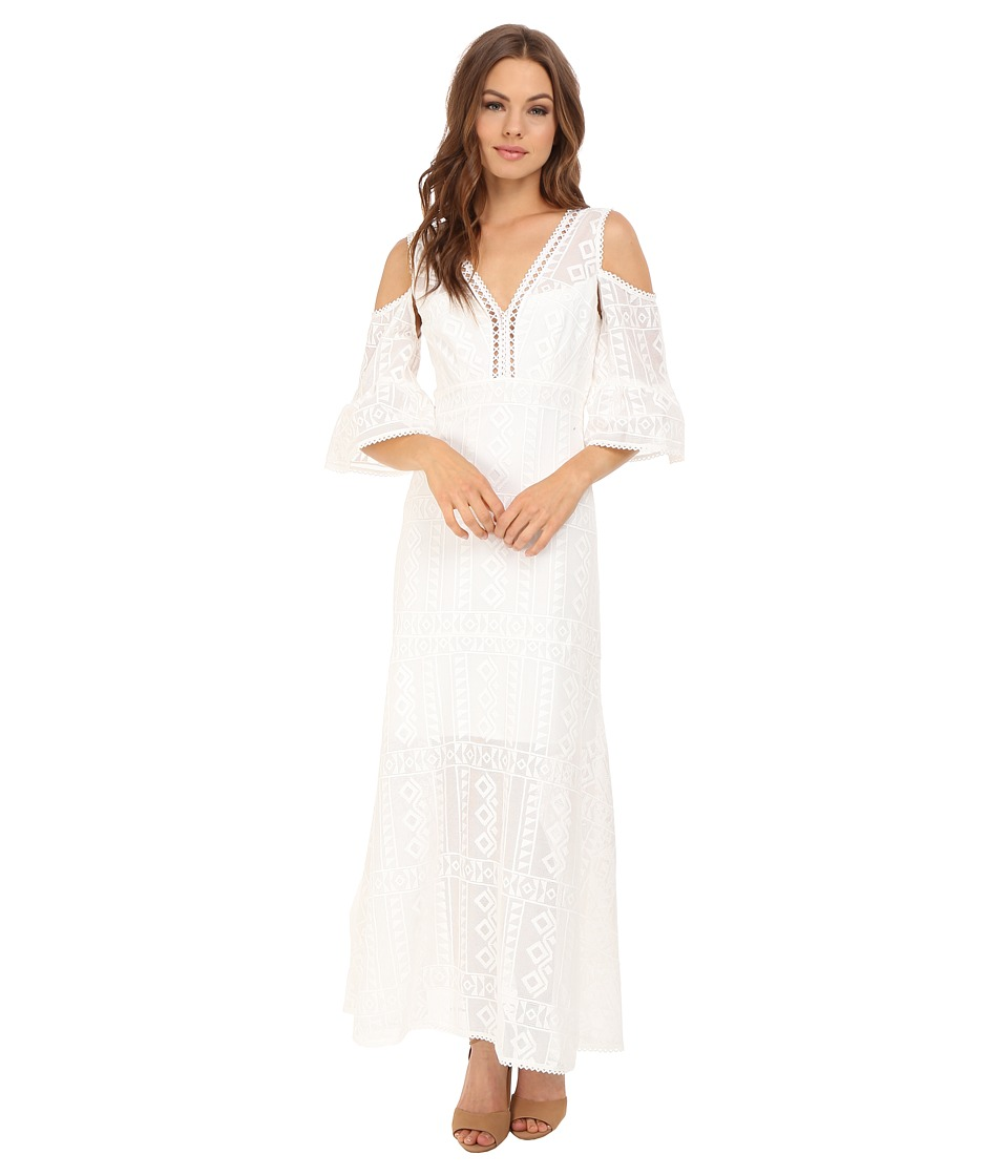 Nanette Lepore Merengue Maxi Dress (Ivory) Women