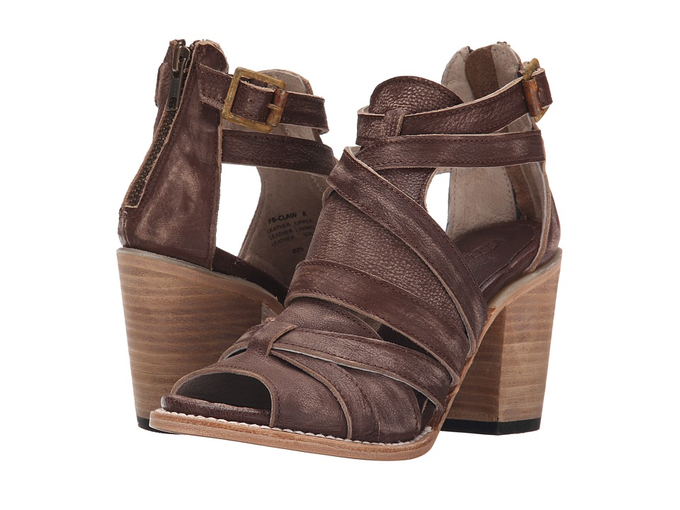 Freebird - Claw (Brown Distressed) High Heels