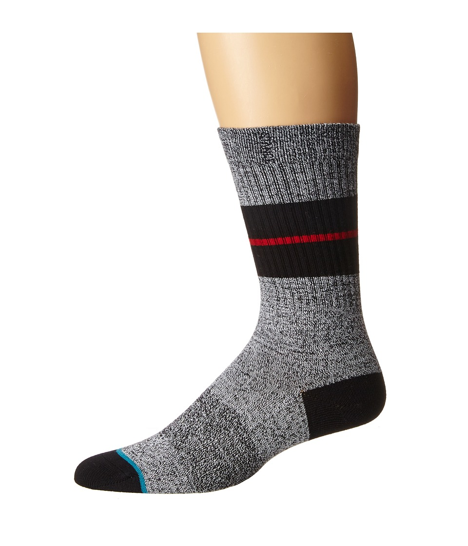 Stance - Sequoia (Charcoal) Men's Crew Cut Socks Shoes