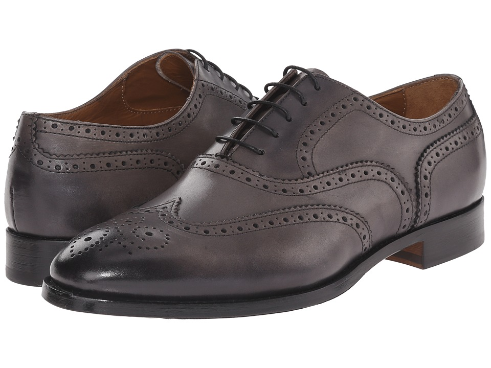 Doucal's - Bruno 1028UF6E Radica (Grigio) Men's Lace Up Wing Tip Shoes