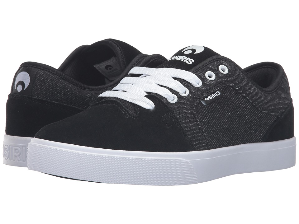 Osiris - Decay (Black/Denim) Men's Skate Shoes