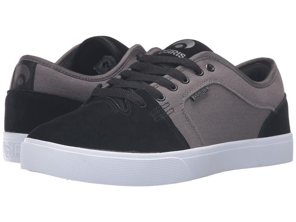 Osiris - Decay (Black/Dark Grey) Men's Skate Shoes