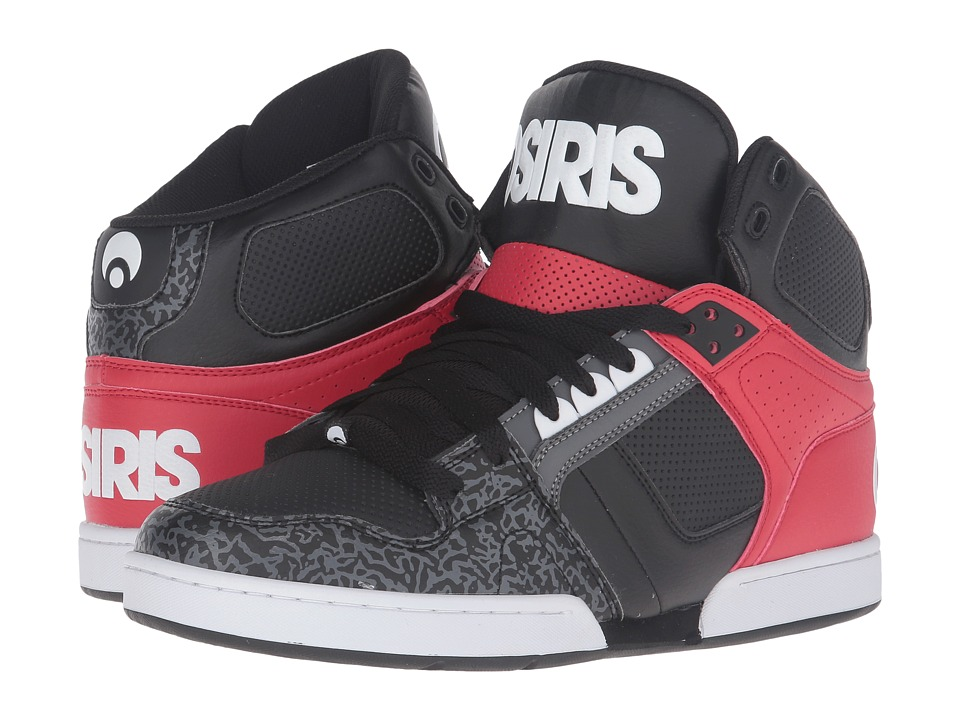 Osiris NYC83 (Black/White/Grey) Men