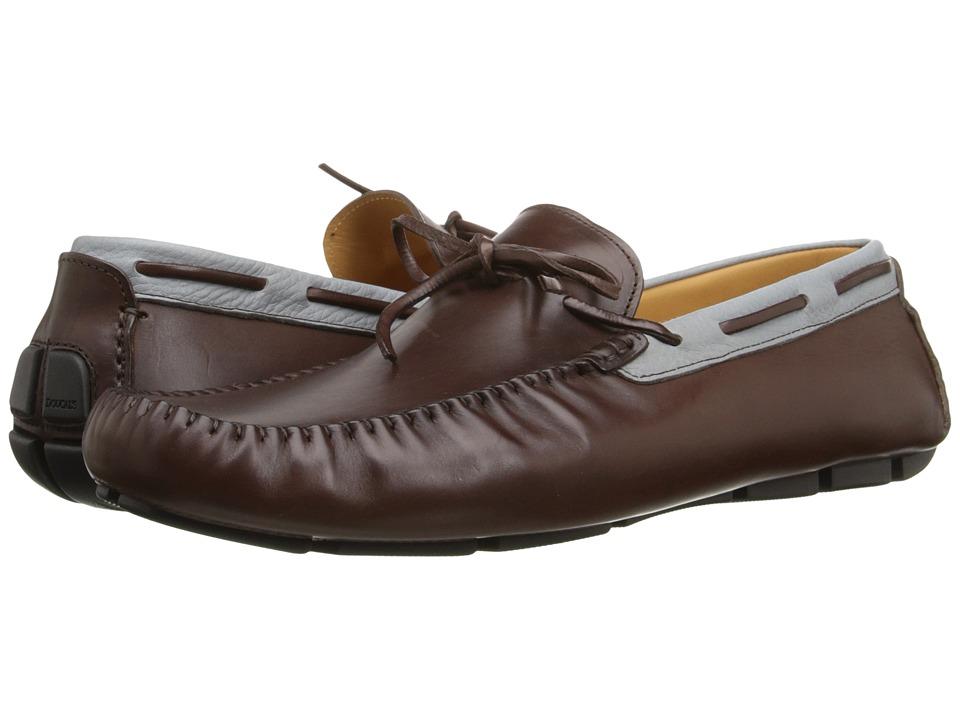 Doucal's - Alfio 1087PF6E Guanto (T. Moro/Denim) Men's Shoes