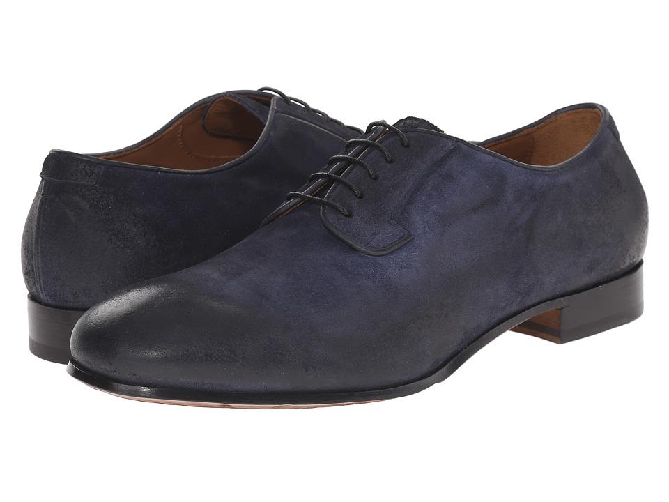 Doucal's - Lapo 1066UF6E Wax (Navy) Men's Lace up casual Shoes