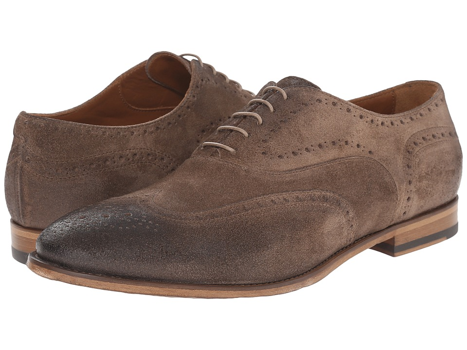 Doucal's - Iacopo 1056UF6E Daime (Deserto) Men's Lace Up Wing Tip Shoes