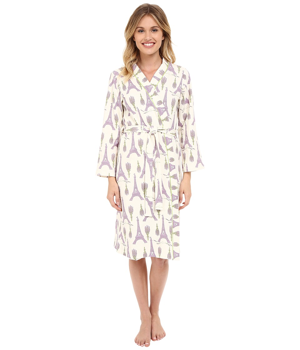 BedHead - Long Stretch Robe (Lavender Eiffel) Women's Robe