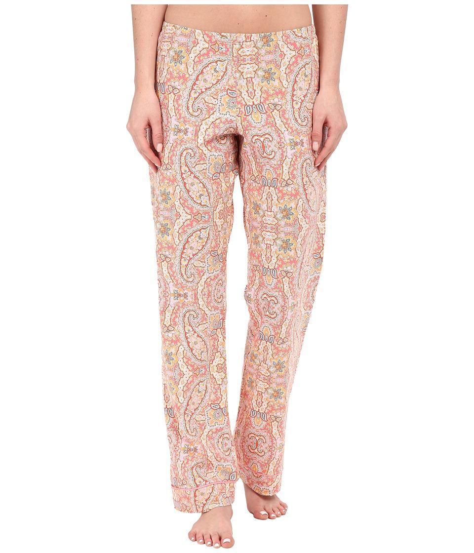 BedHead - Classic Pants (Coral Boho Paisley) Women's Pajama