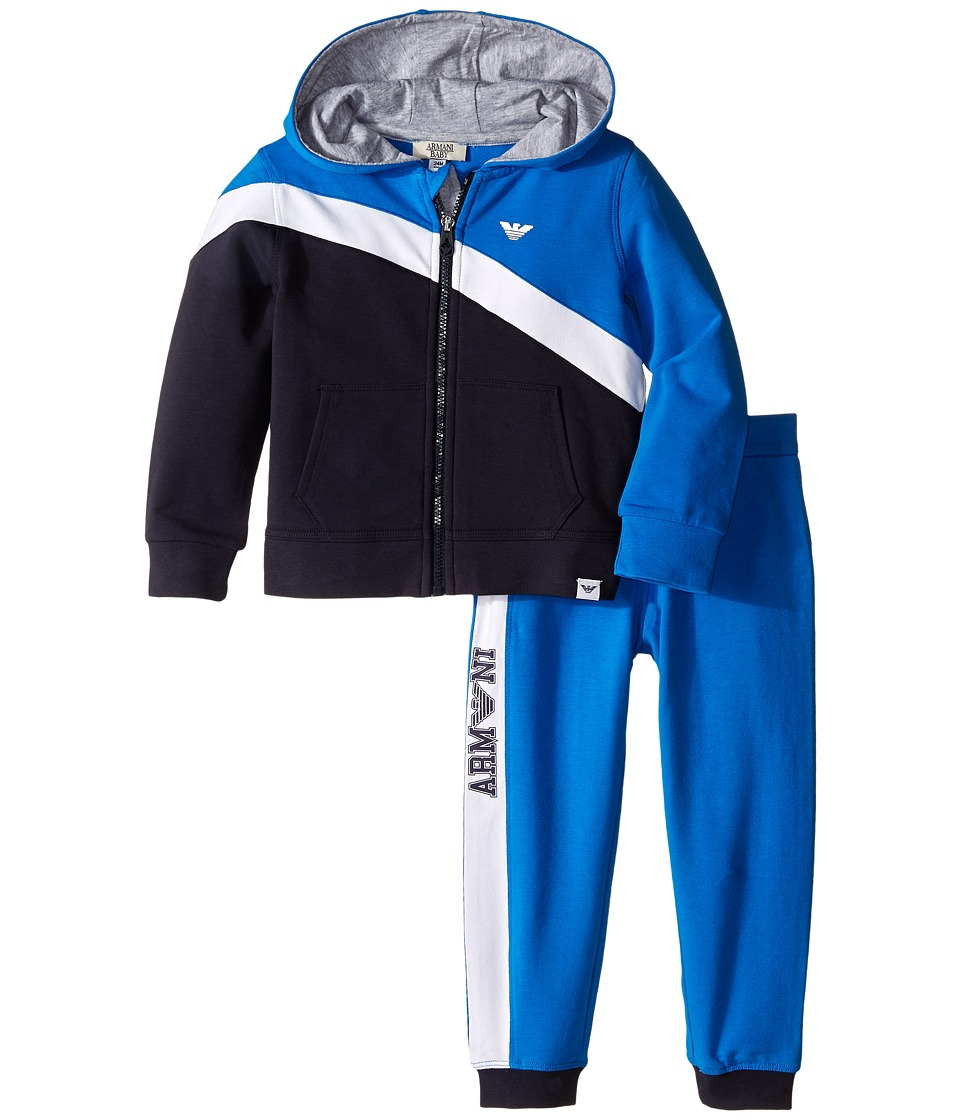 Armani Junior - Track Suit (Infant) (Open Misc) Boy's Suits Sets