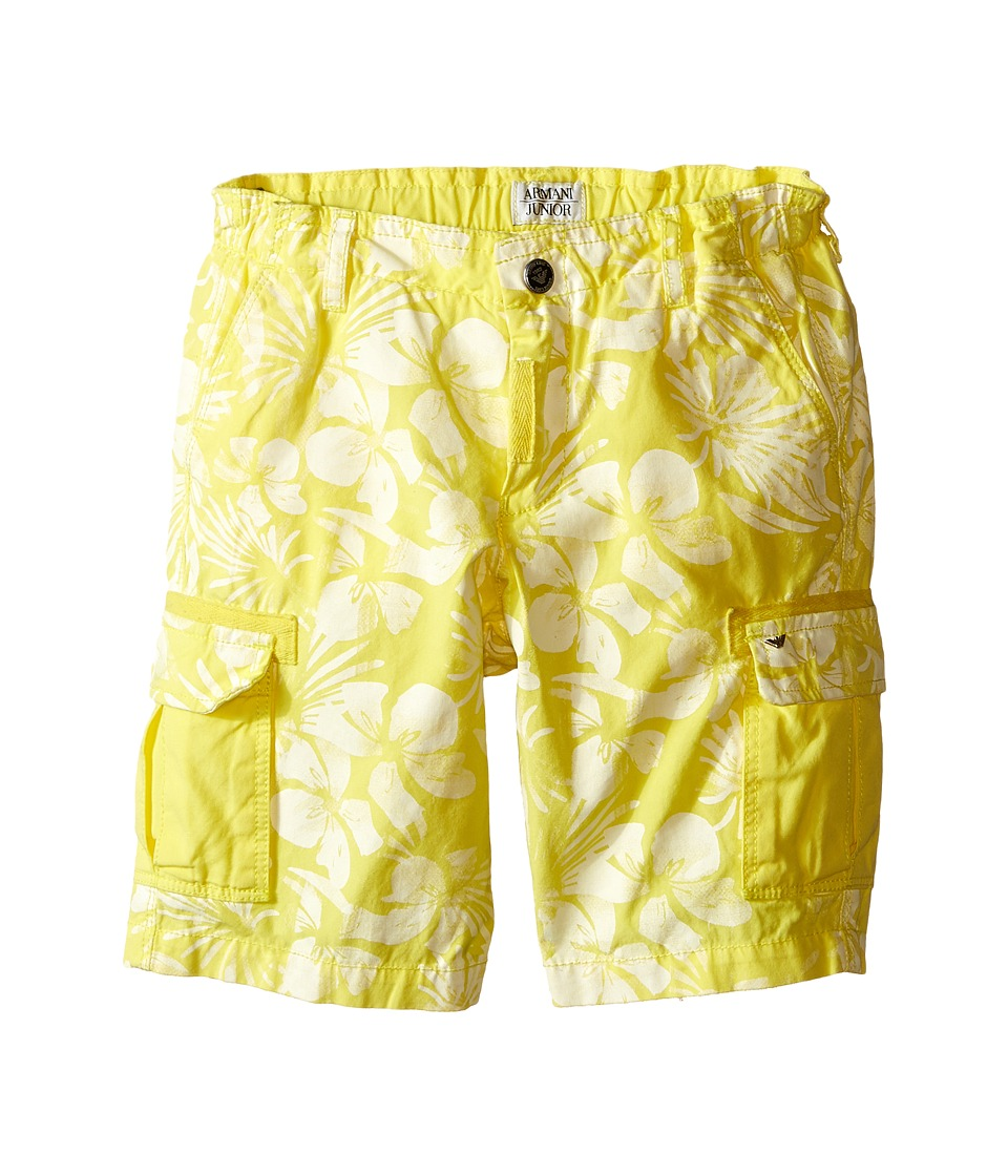 Armani Junior - Hawaiian Shorts (Toddler/Little Kids) (Sun) Boy's Shorts