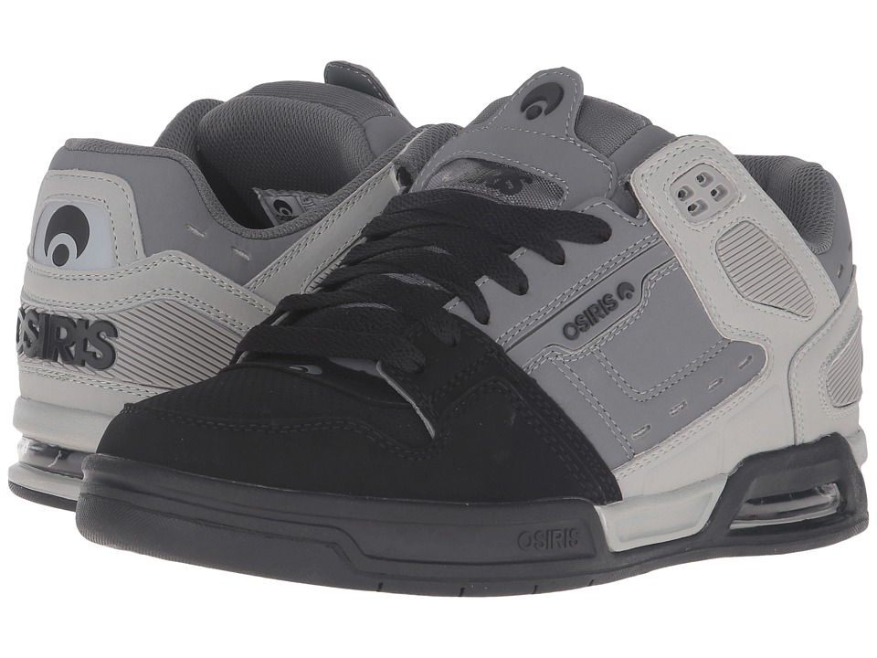 Osiris - Peril (Light Grey/Grey) Men's Skate Shoes