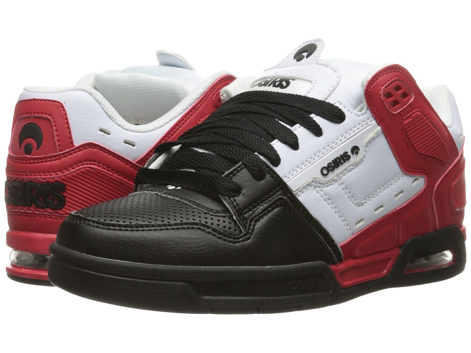Osiris - Peril (Red/White) Men's Skate Shoes