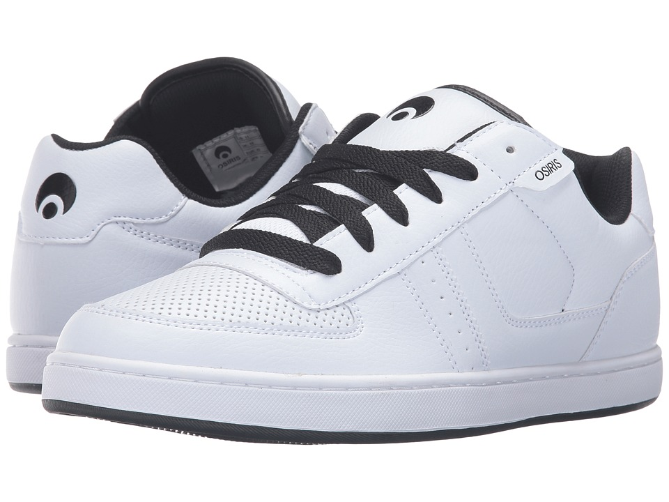 Osiris Relic (White/White/Black) Men