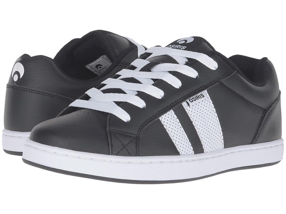 Osiris - Loot (Black/White/White) Men's Skate Shoes