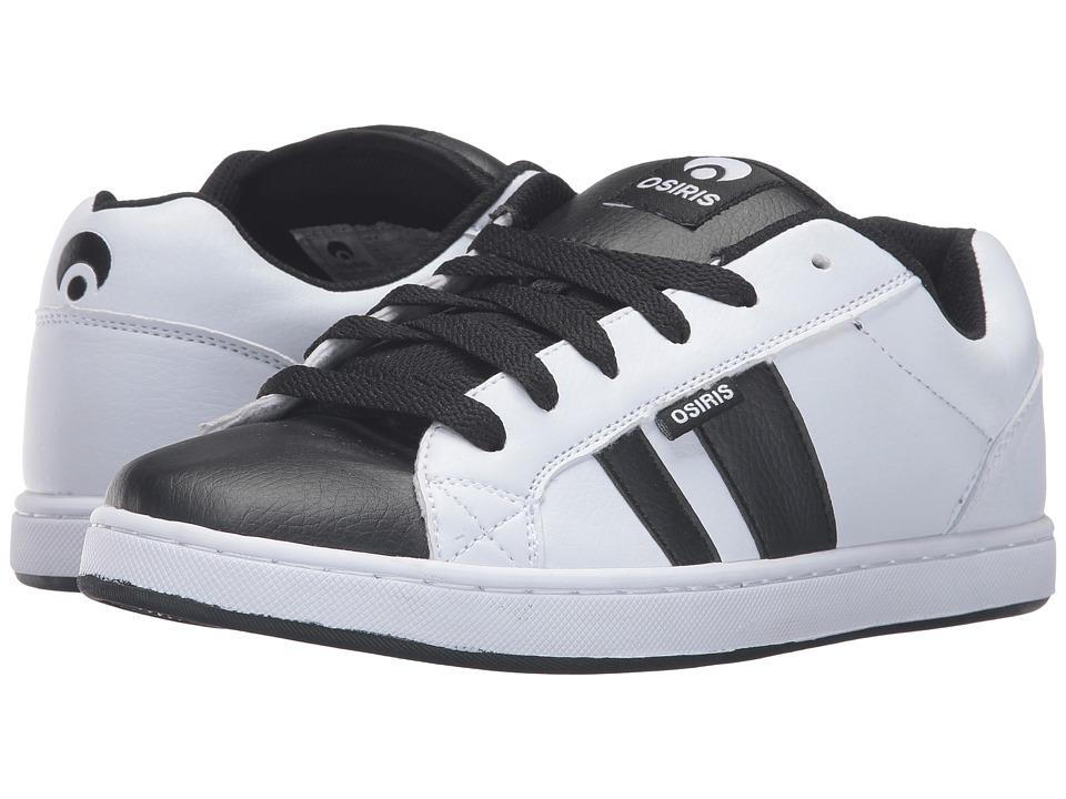 Osiris - Loot (White/White/Black) Men's Skate Shoes