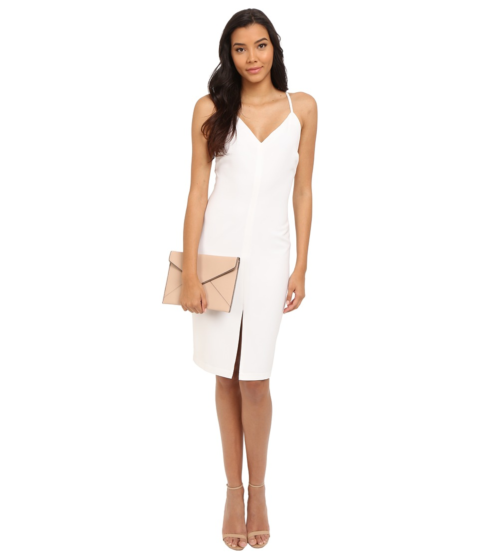 BB Dakota - Zofia Heavy Crepe Dress (Optic White) Women's Dress