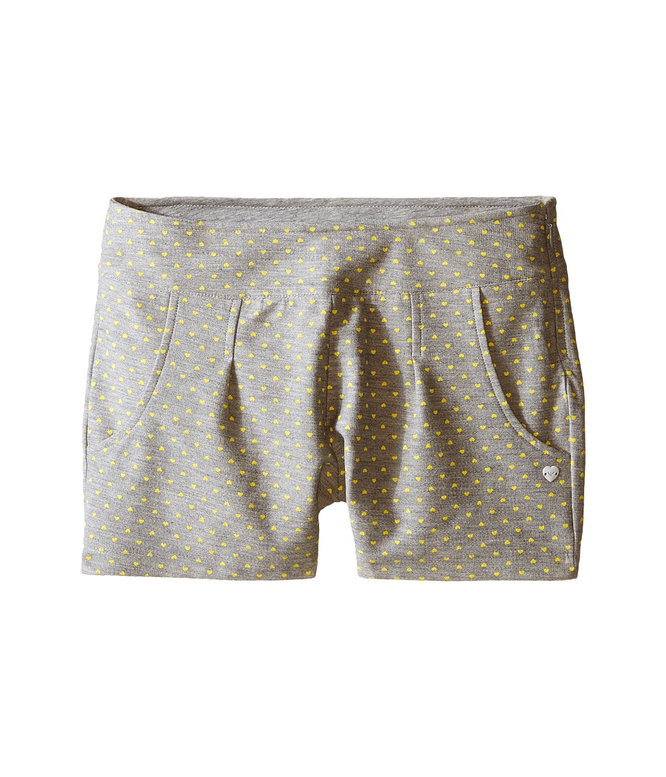Armani Junior - Shorts with Yellow Hearts (Big Kids) (Open Misc) Girl's Shorts
