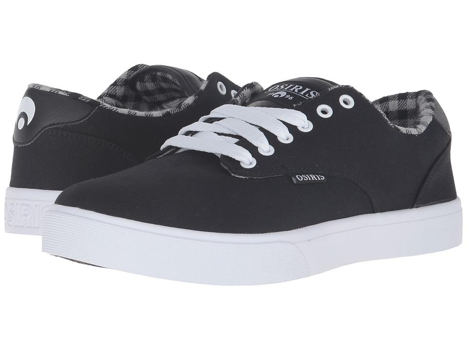 Osiris - Slappy VLC (Black/White) Men's Skate Shoes