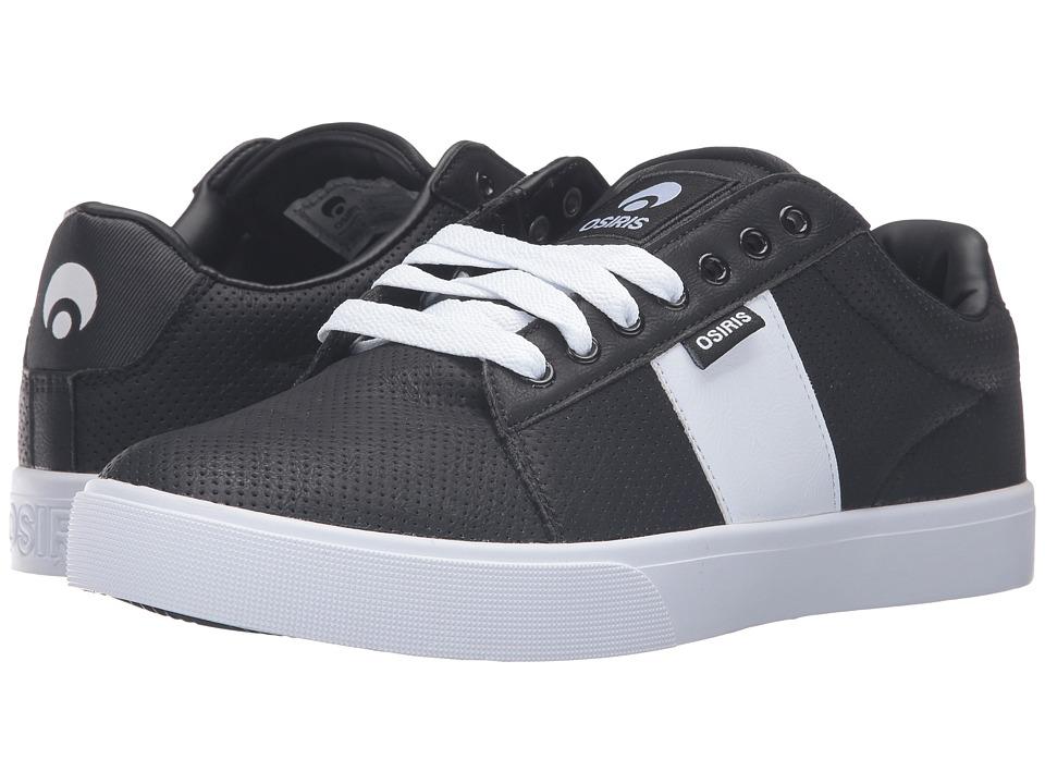 Osiris - Rebound VLC (Black/Perf) Men's Skate Shoes
