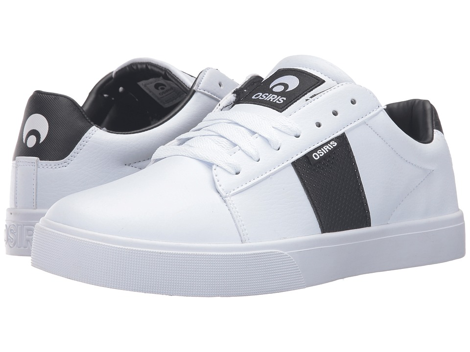 Osiris Rebound VLC (White/Black) Men