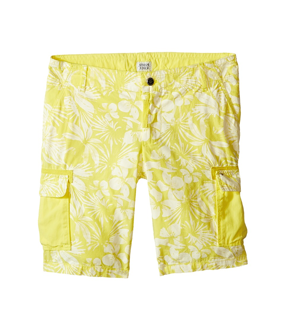 Armani Junior - Hawaiian Shorts (Big Kids) (Sun) Boy's Shorts