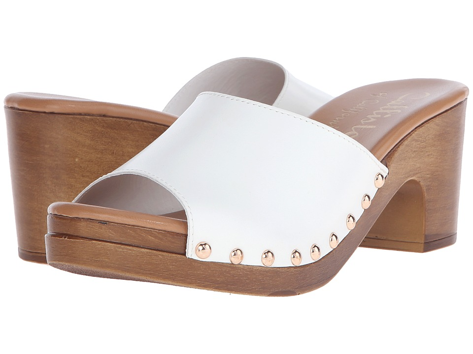 Callisto of California - Danna (White) Women's Slide Shoes