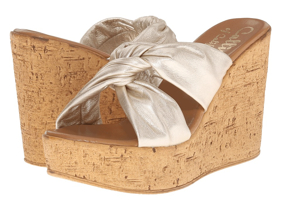 Callisto of California - Rachel (Gold) Women's Wedge Shoes
