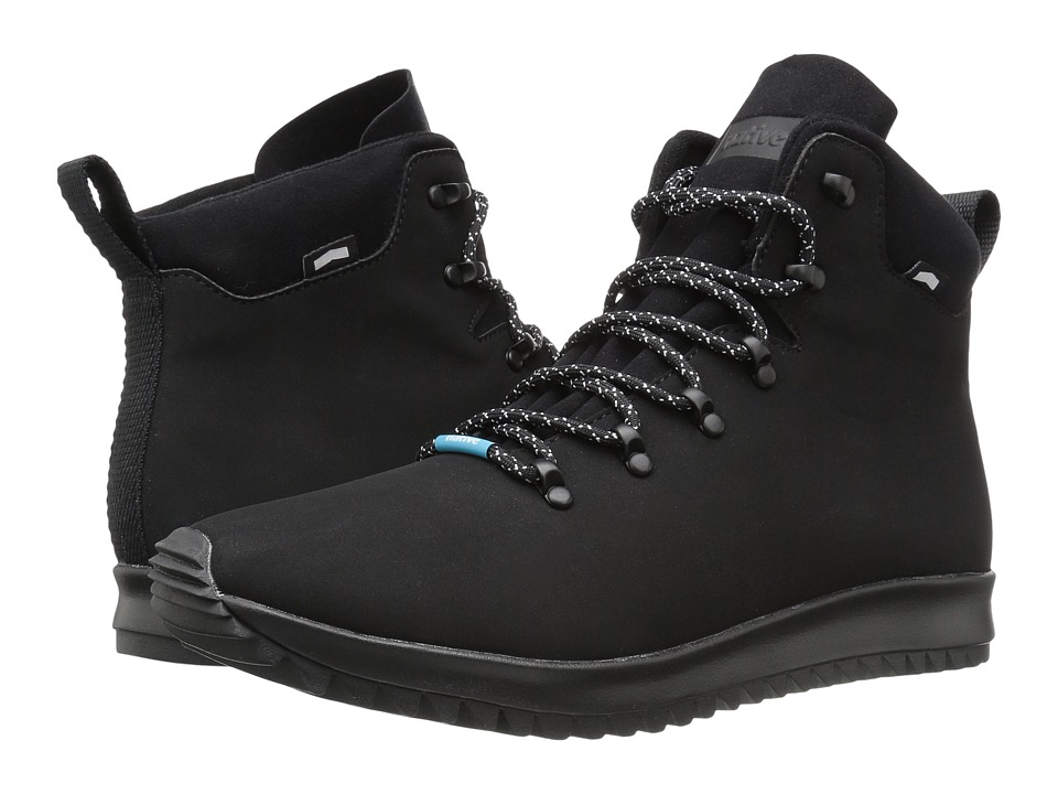 Native Shoes - Apollo Apex (Jiffy Black/Shell White/Jiffy Black Rubber) Lace-up Boots