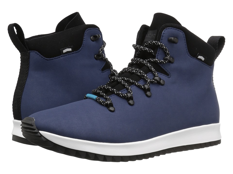 Native Shoes Apollo Apex (Regatta Blue/Shell White/Jiffy Rubber) Lace-up Boots