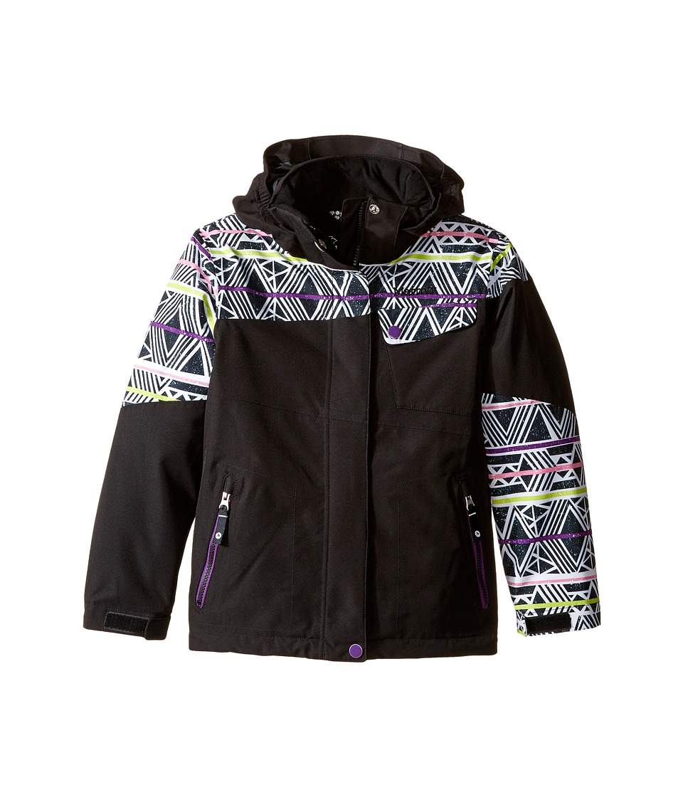 Marmot Kids - Girl's Moonstruck Jacket (Little Kids/Big Kids) (Black/Black Fusion) Girl's Coat