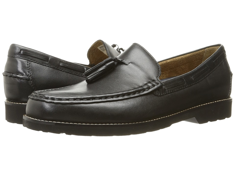 Rockport - Classic Move Hanging Tassel (Black Leather) Men's Shoes