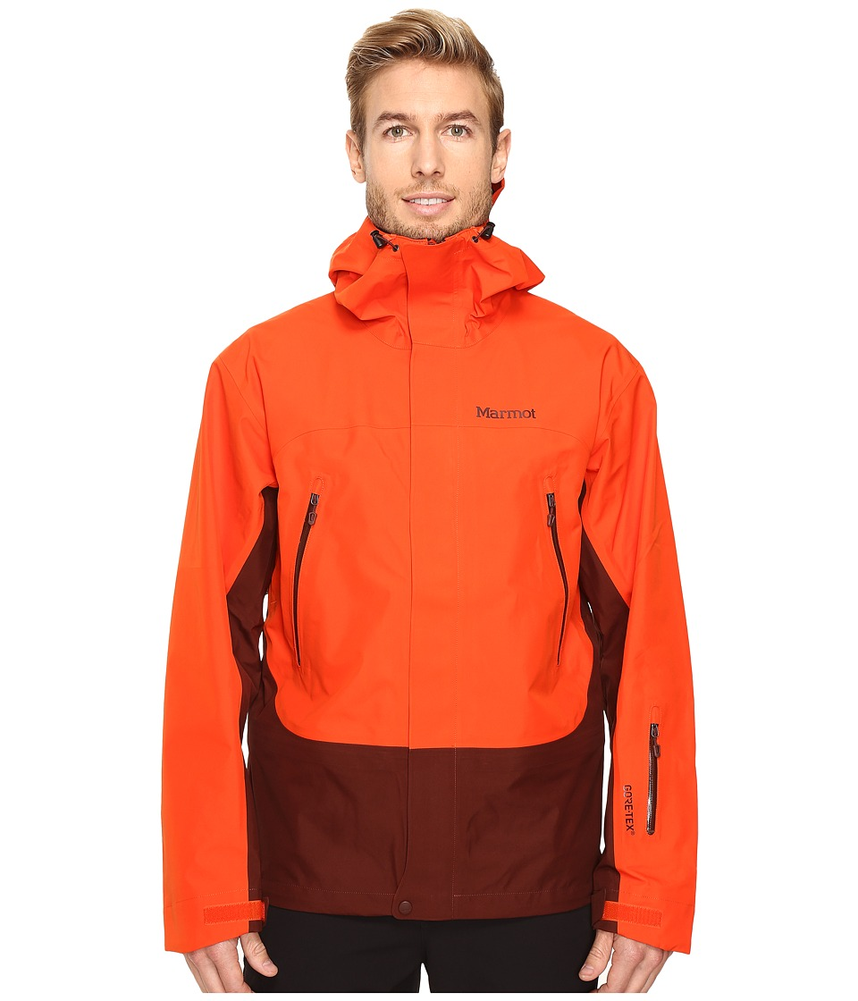 Marmot - Spire Jacket (Mars Orange/Marsala Brown) Men's Coat