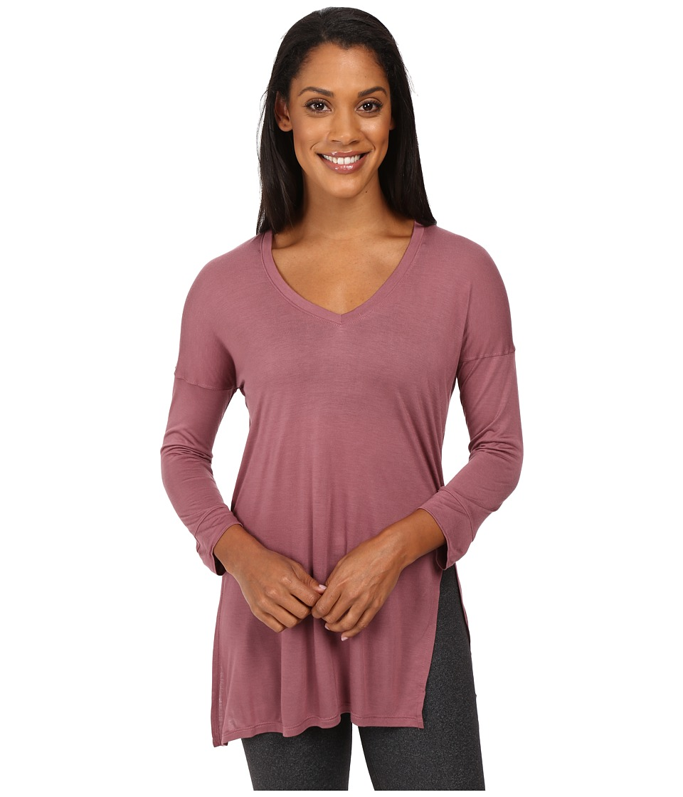 The North Face - Nueva 3/4 Tunic (Renaissance Rose) Women's Long Sleeve Pullover