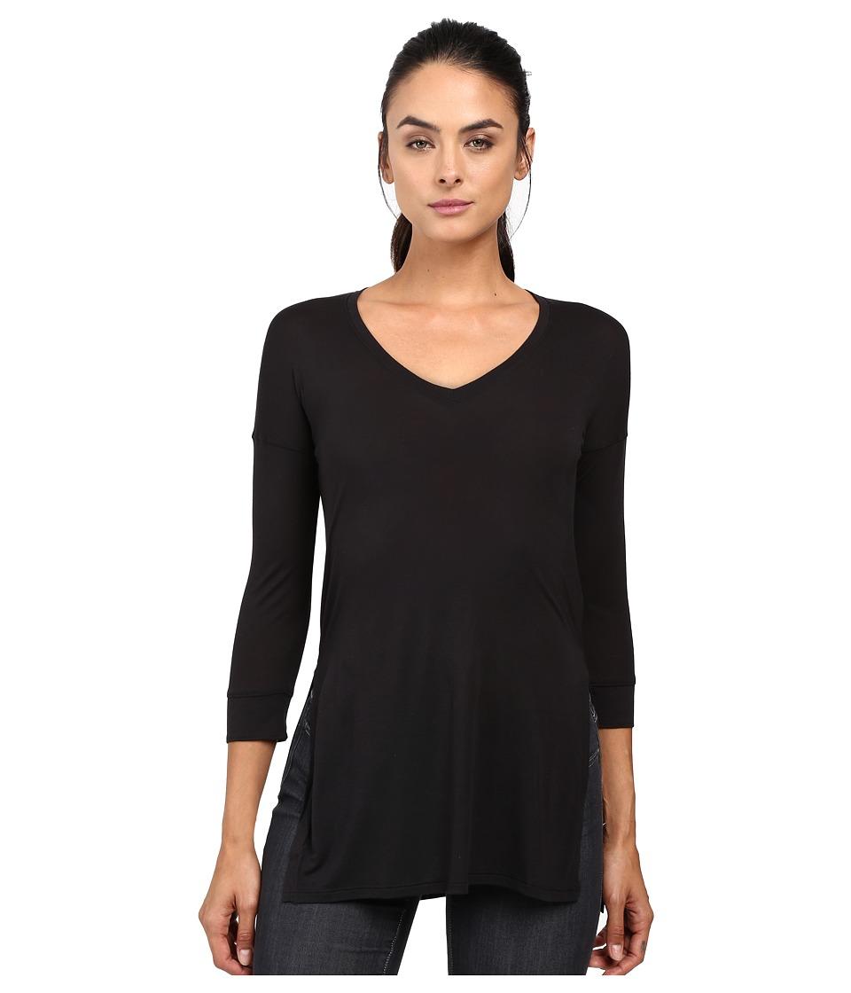 The North Face - Nueva 3/4 Tunic (TNF Black) Women's Long Sleeve Pullover