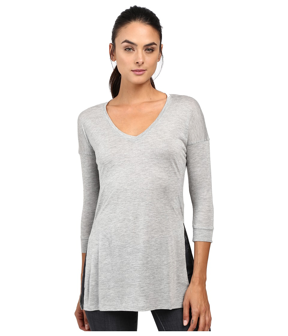 The North Face - Nueva 3/4 Tunic (TNF Light Grey Heather) Women's Long Sleeve Pullover