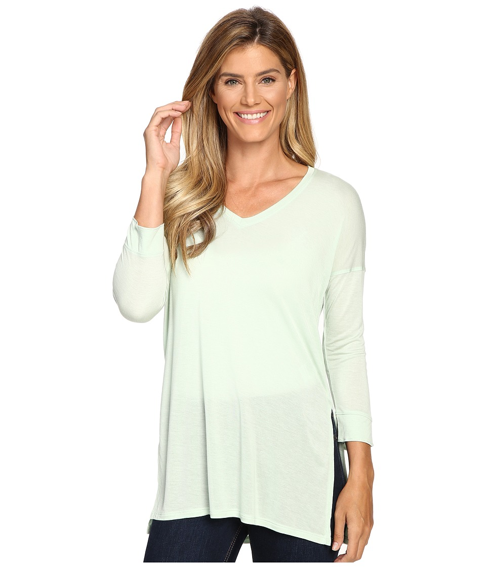 The North Face - Nueva 3/4 Tunic (Subtle Green) Women's Long Sleeve Pullover