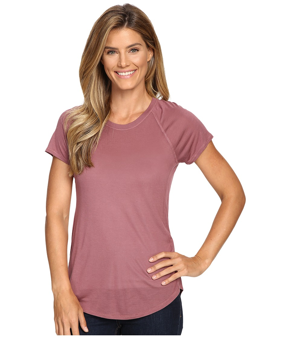 The North Face - Nueva Short Sleeve Top (Renaissance Rose) Women's Short Sleeve Pullover