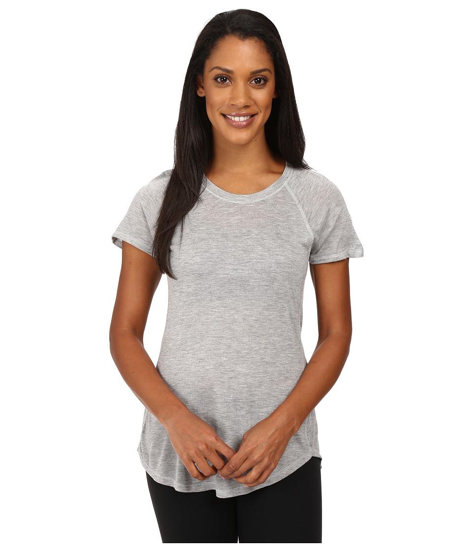 The North Face - Nueva Short Sleeve Top (TNF Light Grey Heather) Women's Short Sleeve Pullover