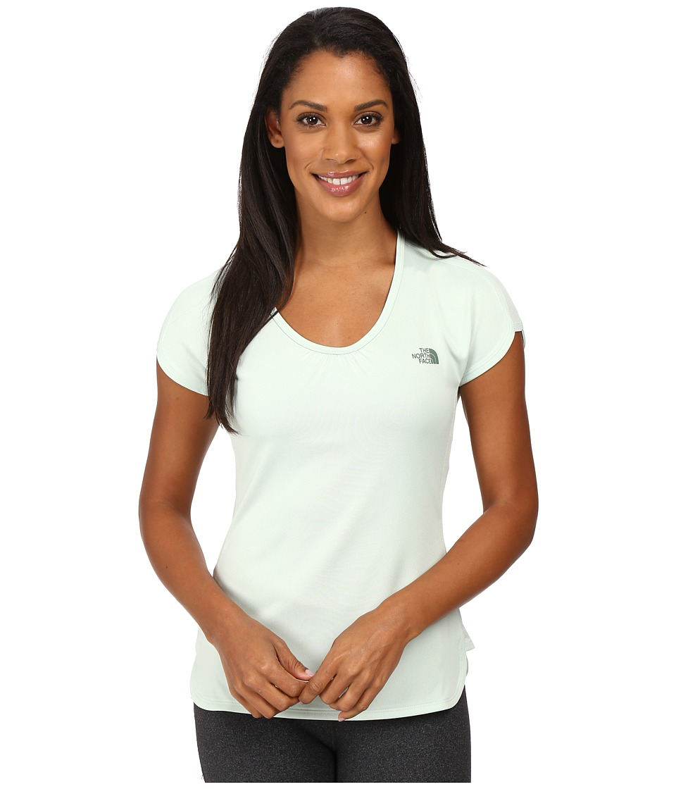The North Face Nueva Short Sleeve Top (Balsam Green) Women