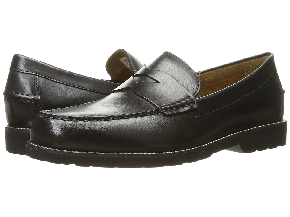 Rockport Classic Move Penny (Black Leather) Men