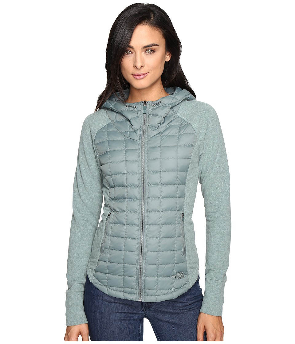 The North Face - Endeavor ThermoBall Jacket (Balsam Green/Balsam Green Light Heather) Women's Coat