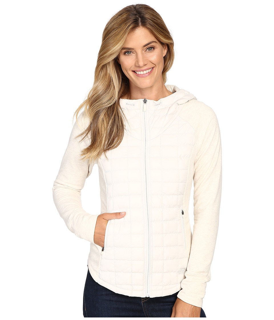The North Face - Endeavor ThermoBall Jacket (Moonlight Ivory/Moonlight Ivory White Heather) Women's Coat
