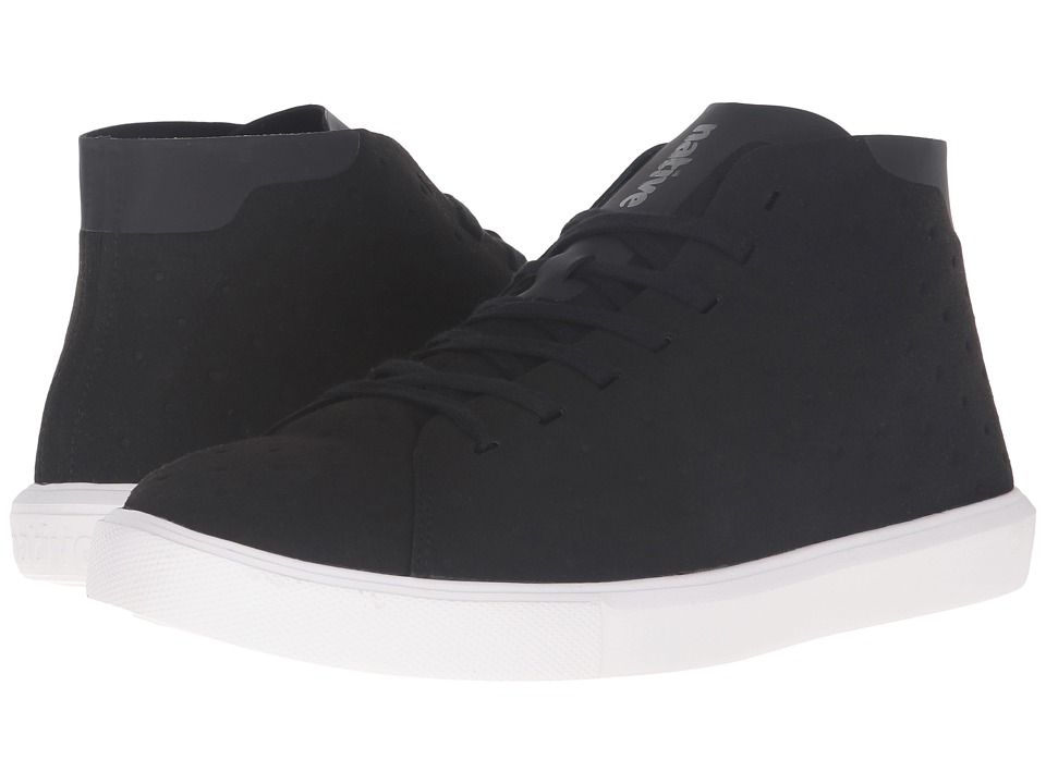Native Shoes - Monaco Mid (Jiffy Black/Shell White) Lace up casual Shoes
