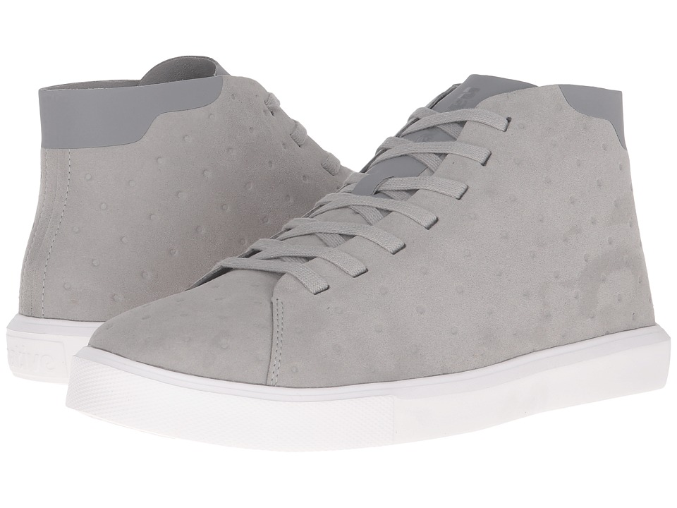 Native Shoes - Monaco Mid (Pigeon Grey/Shell White) Lace up casual Shoes