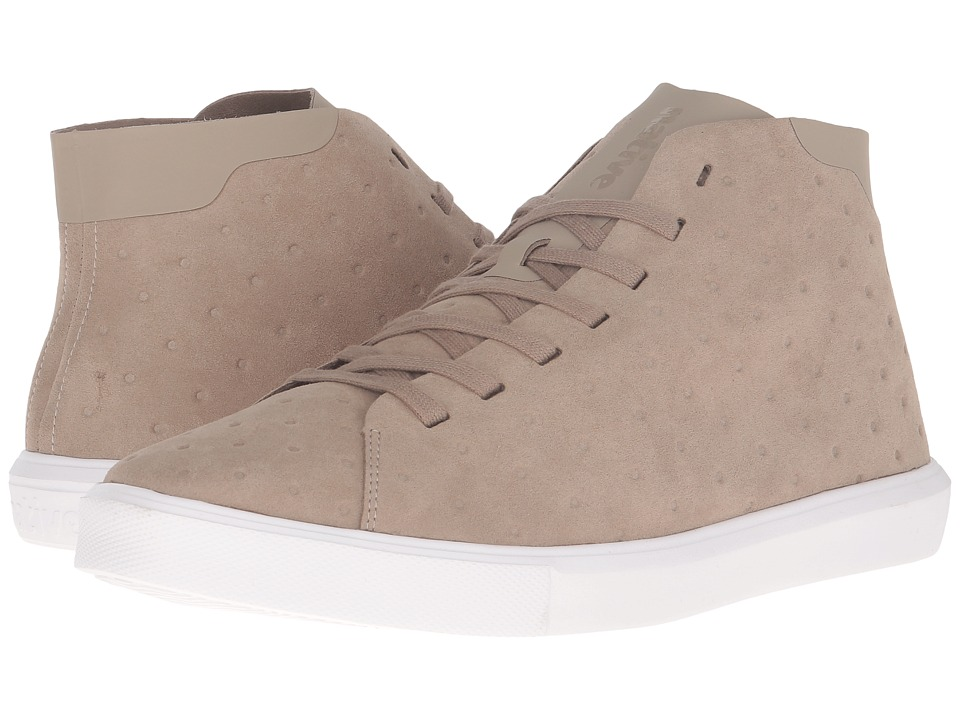 Native Shoes Monaco Mid (Rocky Brown/Shell White) Lace up casual Shoes